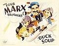 Duck Soup (1933 poster, Style B half sheet).jpeg
