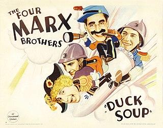 <i>Duck Soup</i> (1933 film) 1933 Marx Brothers film by Leo McCarey