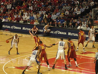 2009–10 Duke Blue Devils men's basketball team - Duke defeated Iowa State at the United Center in Chicago