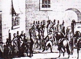 Pierre de Ruel, marquis de Beurnonville - Dumouriez arresting the Commissioners in 1793