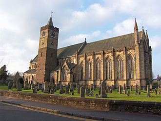 Dunblane - Dunblane Cathedral in February 2012