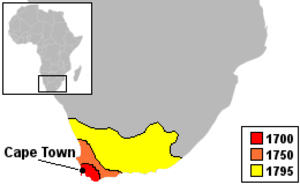 History of the Cape Colony before 1806 - Expansion of the Dutch Cape Colony.
