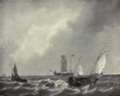 Dutch Painting in the 19th Century - Schotel - Rough Water.png