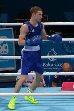 Dzmitry Asanau at the 2015 European Games.jpg