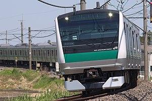 Kawagoe Line - Kawagoe Line E233-7000 series EMU