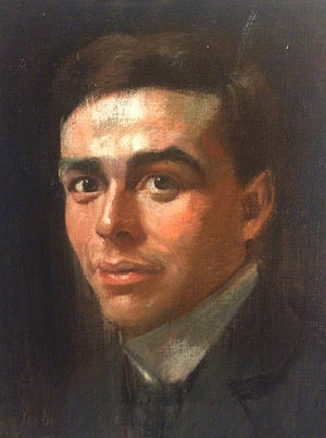 Edwin Pugh - Portrait of Edwin Pugh