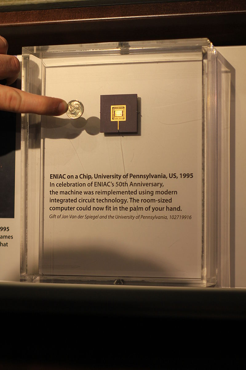 Una reimplementazione della macchina con un circuito integrato, effettuata per il 50esimo anniversario della sua messa in funzione.