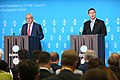 EU2017EE opening press conference with European Commission President Jean-Claude Juncker and Estonian Prime Minister Jüri Ratas Jean-Claude Juncker and Jüri Ratas (35587087066).jpg