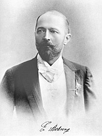 Emil Adolf von Behring was the first person to receive the Nobel Prize in Physiology or Medicine, for his work on the treatment of diphtheria.