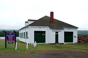 Eagle Harbor Coast Guard Station Boathouse - Image: Eagle Harbor Coast Guard Station Boathouse A