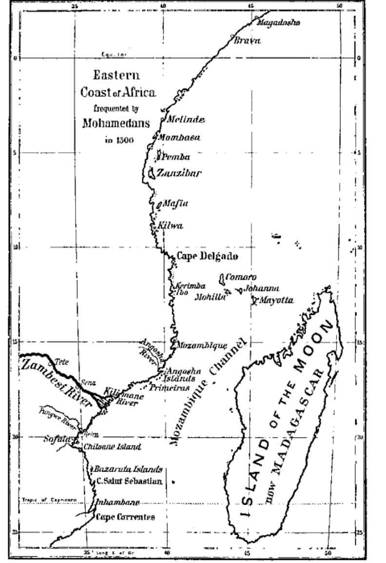 East Africa, c.1500