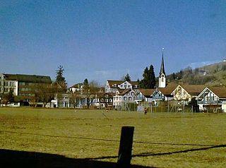 Ebnat-Kappel Place in St. Gallen, Switzerland