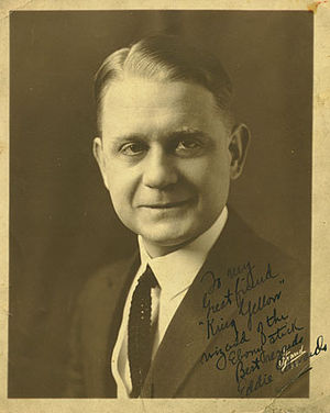 Eddie Edwards (musician) - Edwin B. Edwards, c. 1921.