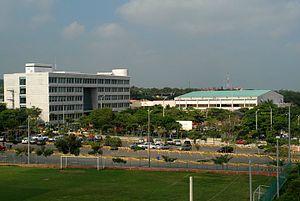 Universidad del Norte, Colombia - Image: Edificio G Posterior Uni Norte