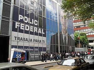 Edificio de la policia federal en paseo reforma de la ciudad de Mexico