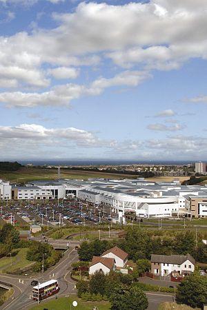 An aerial view of Edinburgh BioQuarter