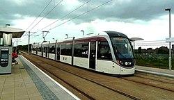 Edinburghs Long-Awaited Trams (geograph 4010827).jpg