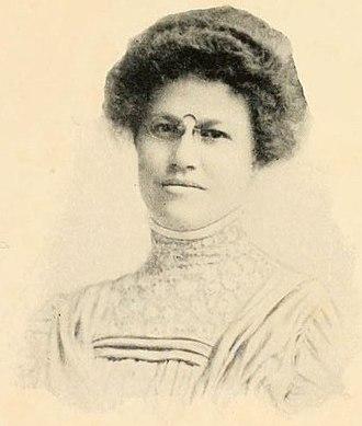 Edith Jordan Gardner - Edith Monica Jordan in 1909