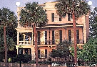 Edmondston–Alston House - Image: Edmondston Alston House