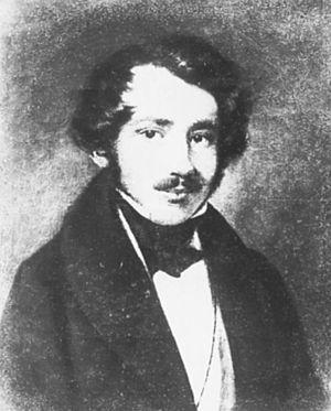 Friedrich Eduard Meyerheim - Friedrich Eduard Meyerheim by Franz Krüger
