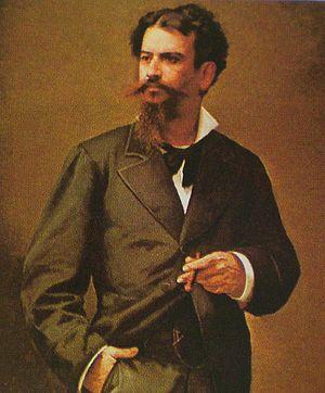 Eduardo Blanco (writer) - Portrait by Antonio Herrera Toro