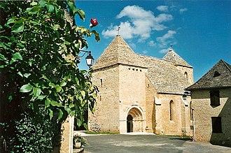 Archignac - The church in Archignac