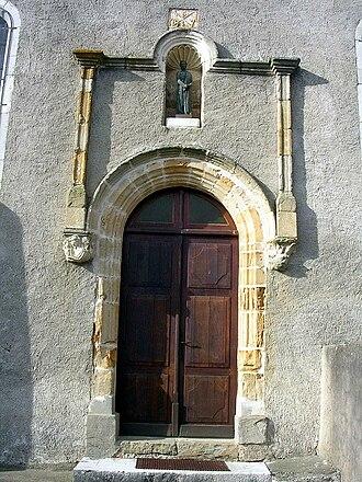 Athos-Aspis - Entrance to the church