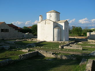 Duchy of Croatia - The Church of the Holy Cross in Nin from the 9th century