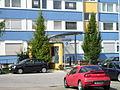 Einkaufszentrum Baumberg Holzweg Eingang Geschwister-Scholl-Straße070722.JPG