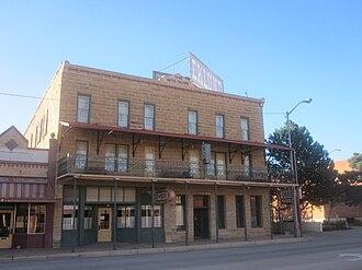 Clayton, New Mexico - Image: Eklund Hotel, Clayton, NM IMG 4956