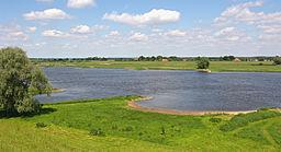 Elbe bei KM533,5 Schutschur