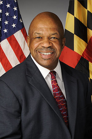 Elijah Cummings - Cummings' official photo in 2012