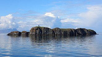 Breiðafjörður - The island Elliðaey in Breiðafjörður