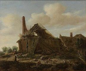 Farmhouse in ruins