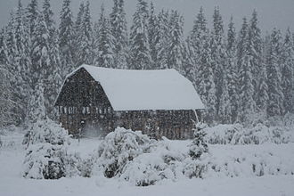 Yellowhead County - Winter at Embarras