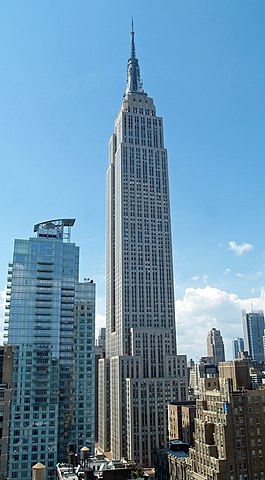 The Empire State Building Credit: Wiki Commons