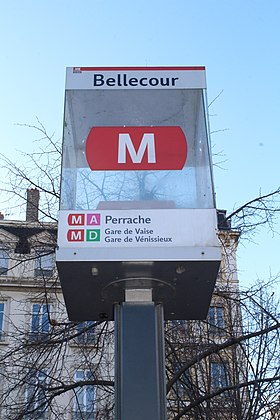 Image illustrative de l'article Bellecour (métro de Lyon)