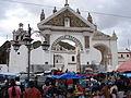 Entrada de la Basílica de Copacabana.jpg