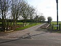 Entrance drive to Square Close - geograph.org.uk - 1803240.jpg