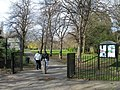 Entrance to Downhills Park, West Green - geograph.org.uk - 734224.jpg