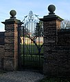 Entrance to walled garden, Hawkhills, Easingwold, Yorkshire - geograph.org.uk - 731423.jpg