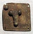 Epoca romana, amuleto con piccolo fallo portafortuna.jpg