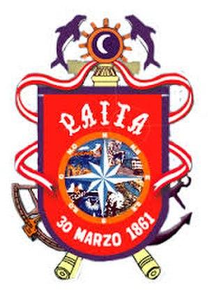 Paita - Image: Escudo de Paita