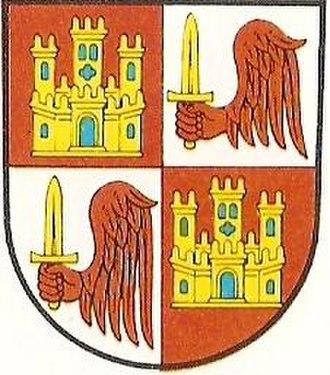 Alfonso de Castilla y Molina - Arms of the infante Alfonso de Castilla y Molina.