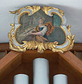 Esenhausen Pfarrkirche Orgel Cäcilia.jpg
