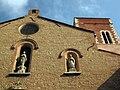 Església de la Real, detall de la façana.jpg