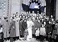 Esküvői fotó, 1948 Budapest. Fortepan 104905.jpg
