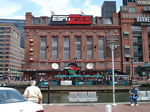 ESPN Zone - ESPN Zone in Baltimore in 2007.