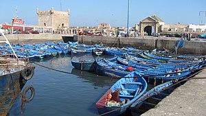 Fishing industry in Morocco - Fishing boats in Essaouira