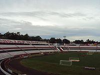 Arquibancadas do Estádio Santa Cruz, do Botafogo.